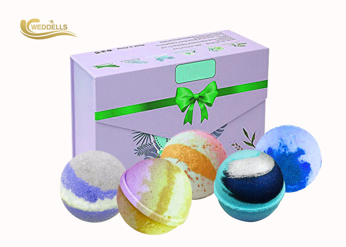 Private Label Bath Bomb Gift Sets organic Herbal Ingredients Bath Fizzy