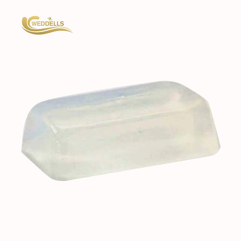 Natural Melt And Pour Soap Base , SLS Free DIY Glycerin Soap Base Block Shape